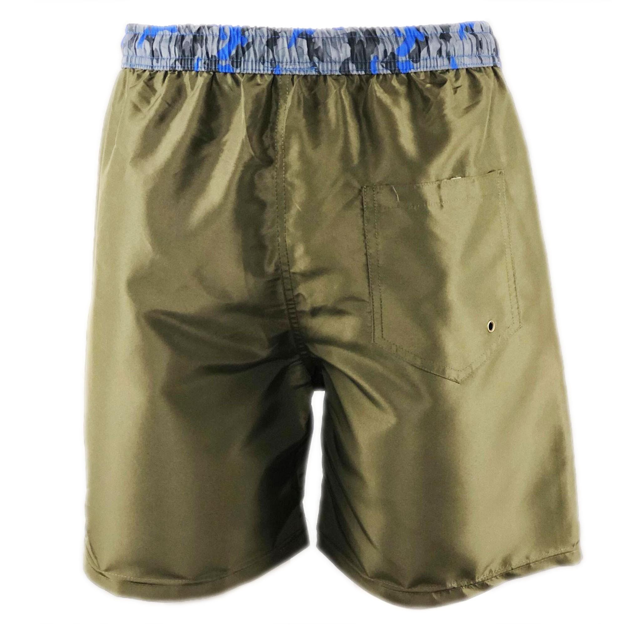Costume-da-Bagno-Uomo-Boxer-Camouflage-Pantaloncino-Bermuda-Mare miniatura 28