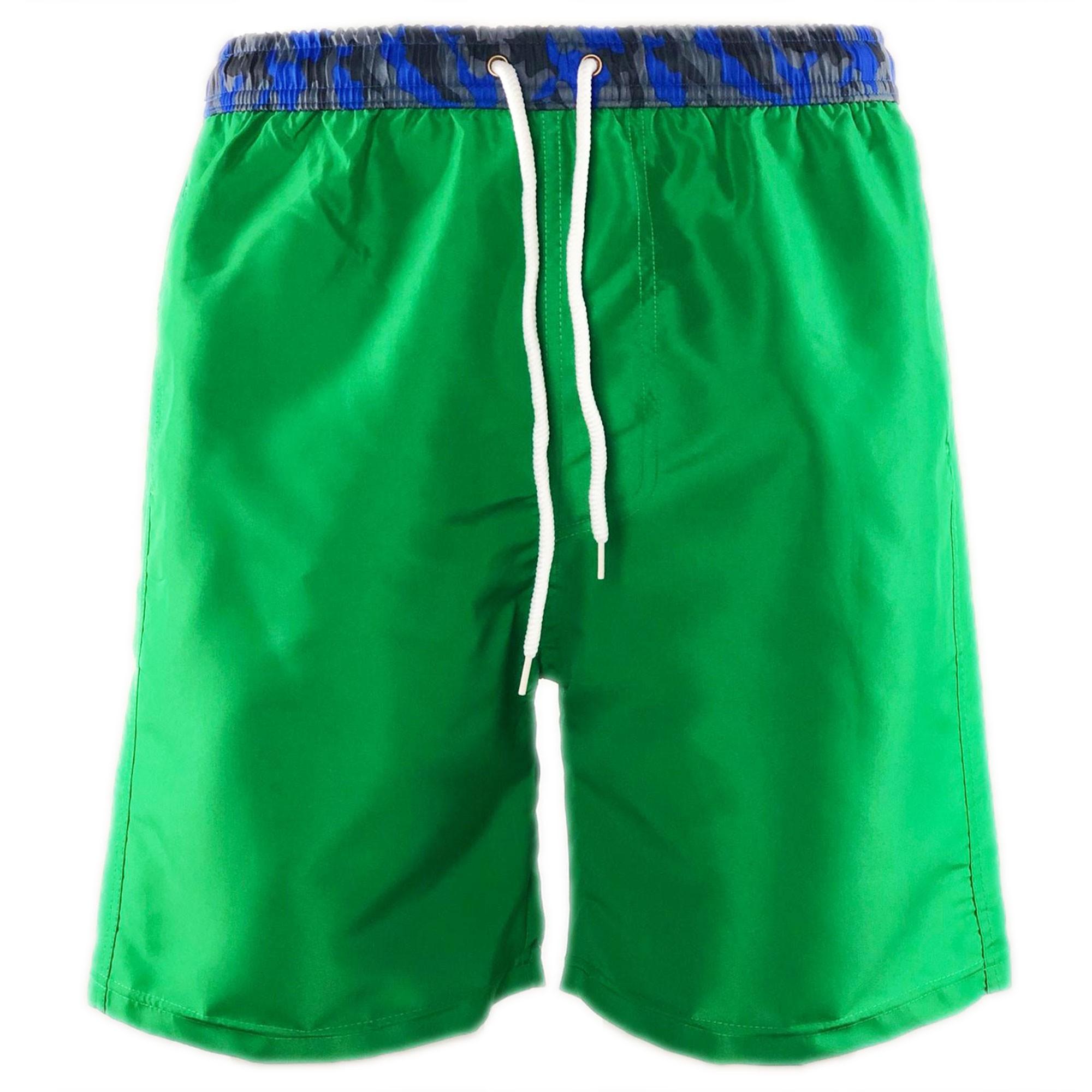 Costume-da-Bagno-Uomo-Boxer-Camouflage-Pantaloncino-Bermuda-Mare miniatura 8