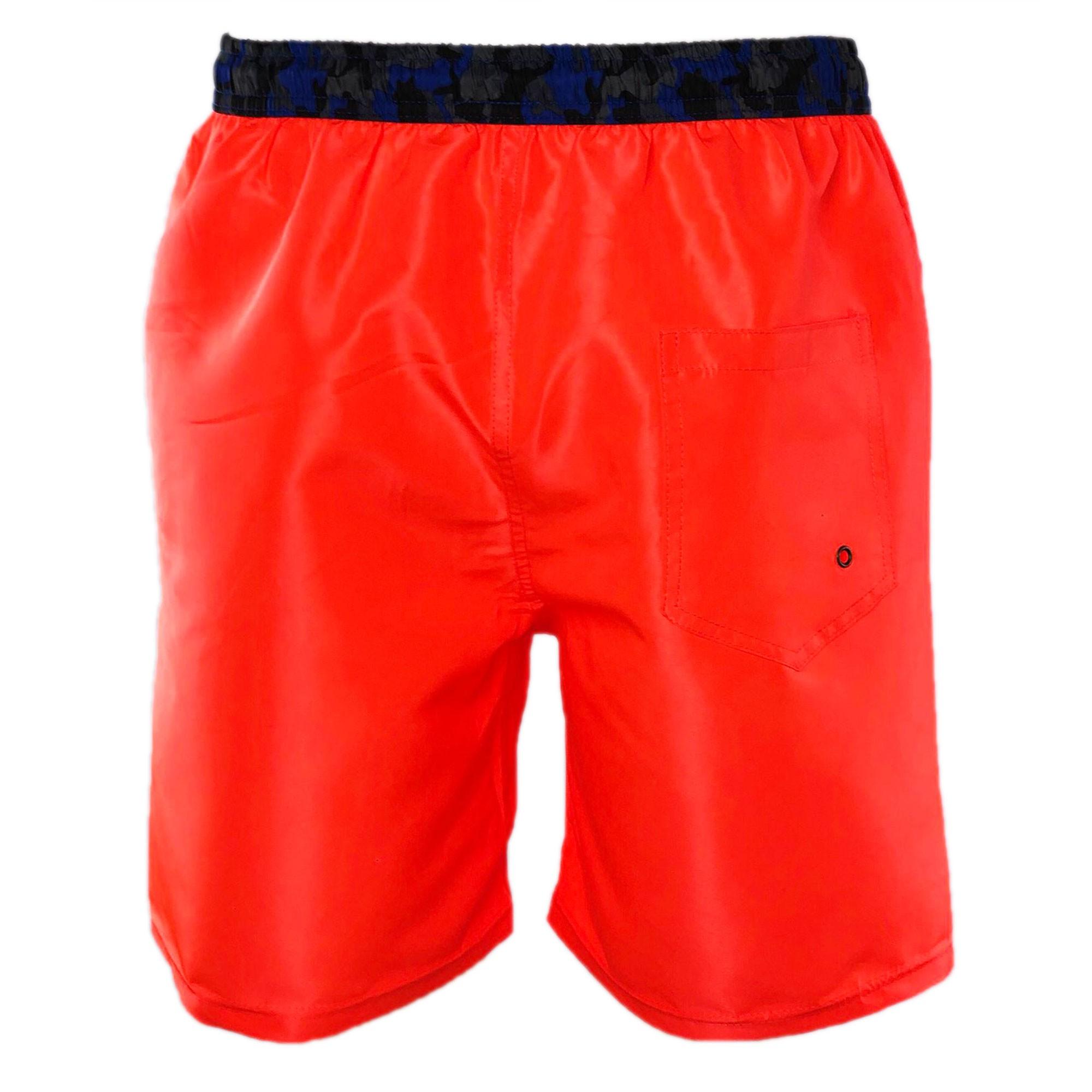 Costume-da-Bagno-Uomo-Boxer-Camouflage-Pantaloncino-Bermuda-Mare miniatura 22