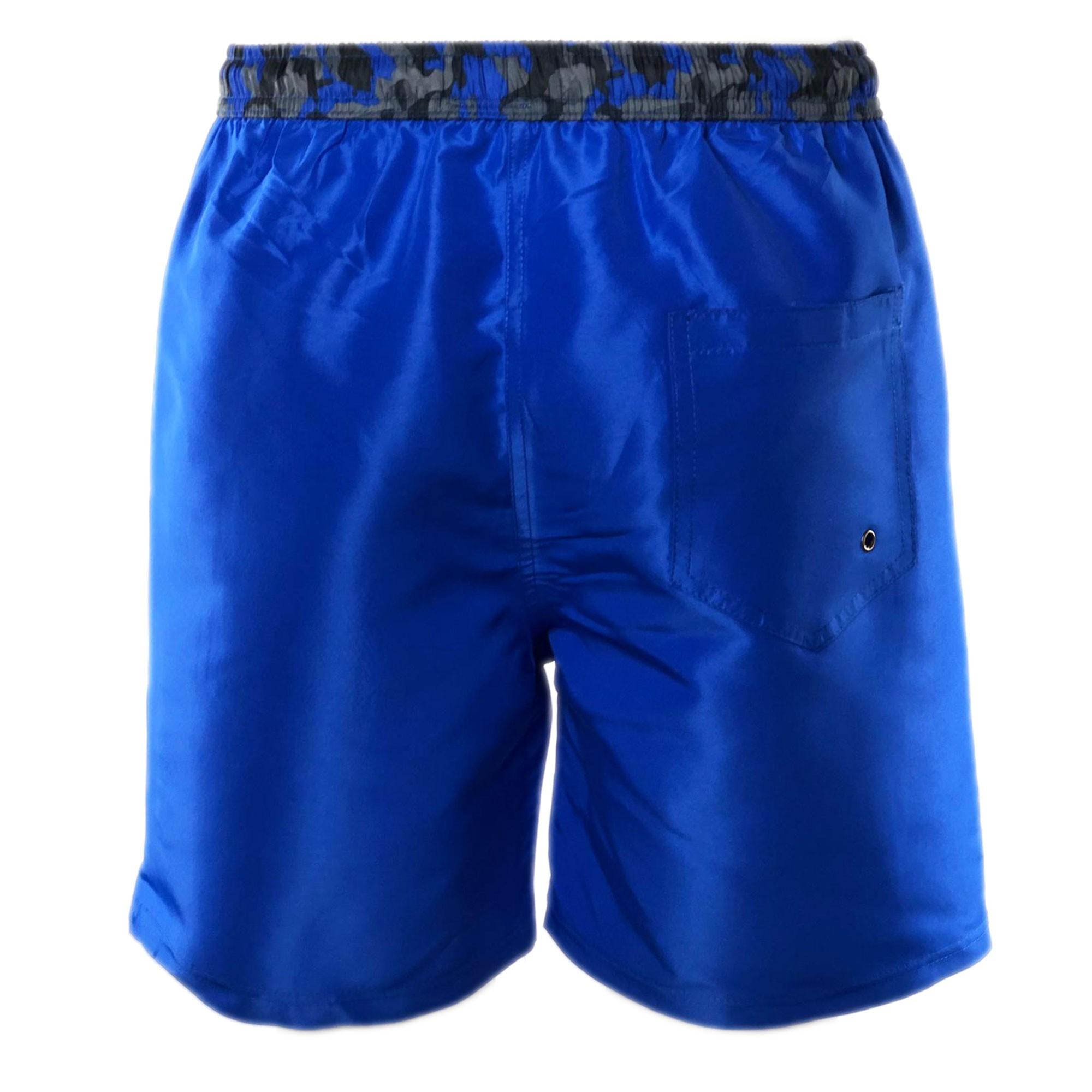 Costume-da-Bagno-Uomo-Boxer-Camouflage-Pantaloncino-Bermuda-Mare miniatura 4
