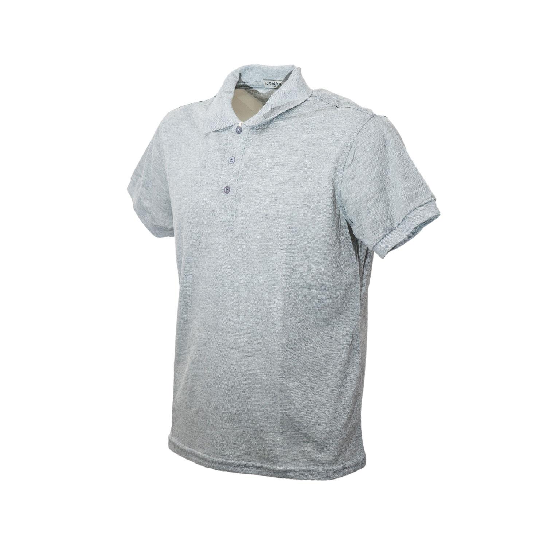 Polo-Uomo-Manica-Corta-Cotone-Maglia-Maglietta-Casual-T-shirt miniatura 3