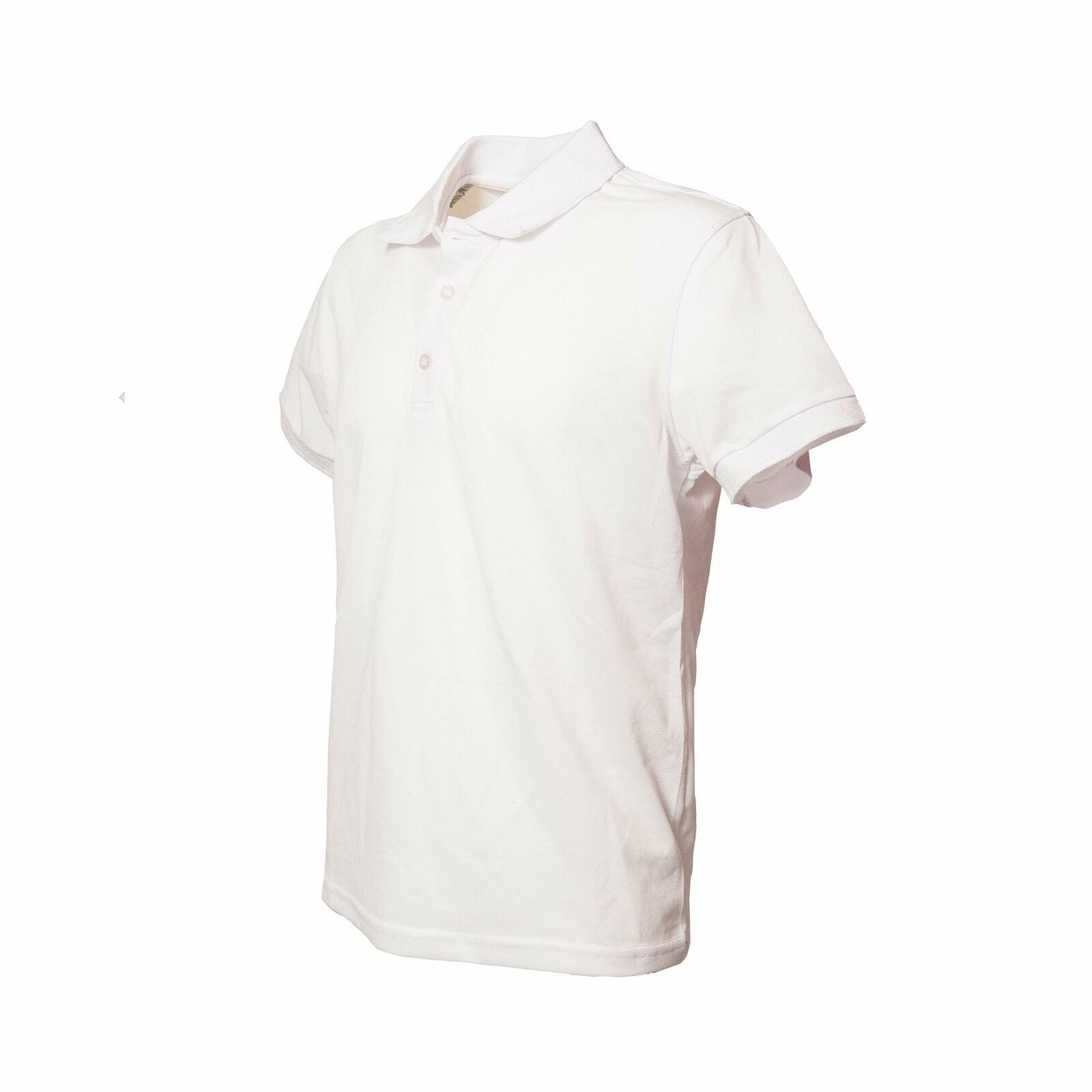 Polo-Uomo-Manica-Corta-Cotone-Maglia-Maglietta-Casual-T-shirt miniatura 9