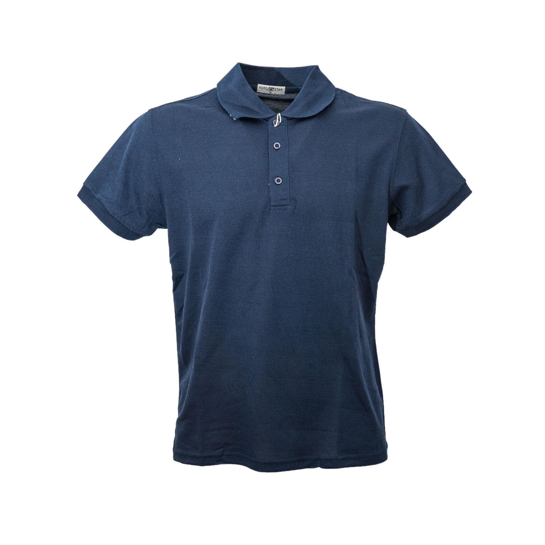 Polo-Uomo-Manica-Corta-Cotone-Maglia-Maglietta-Casual-T-shirt miniatura 5