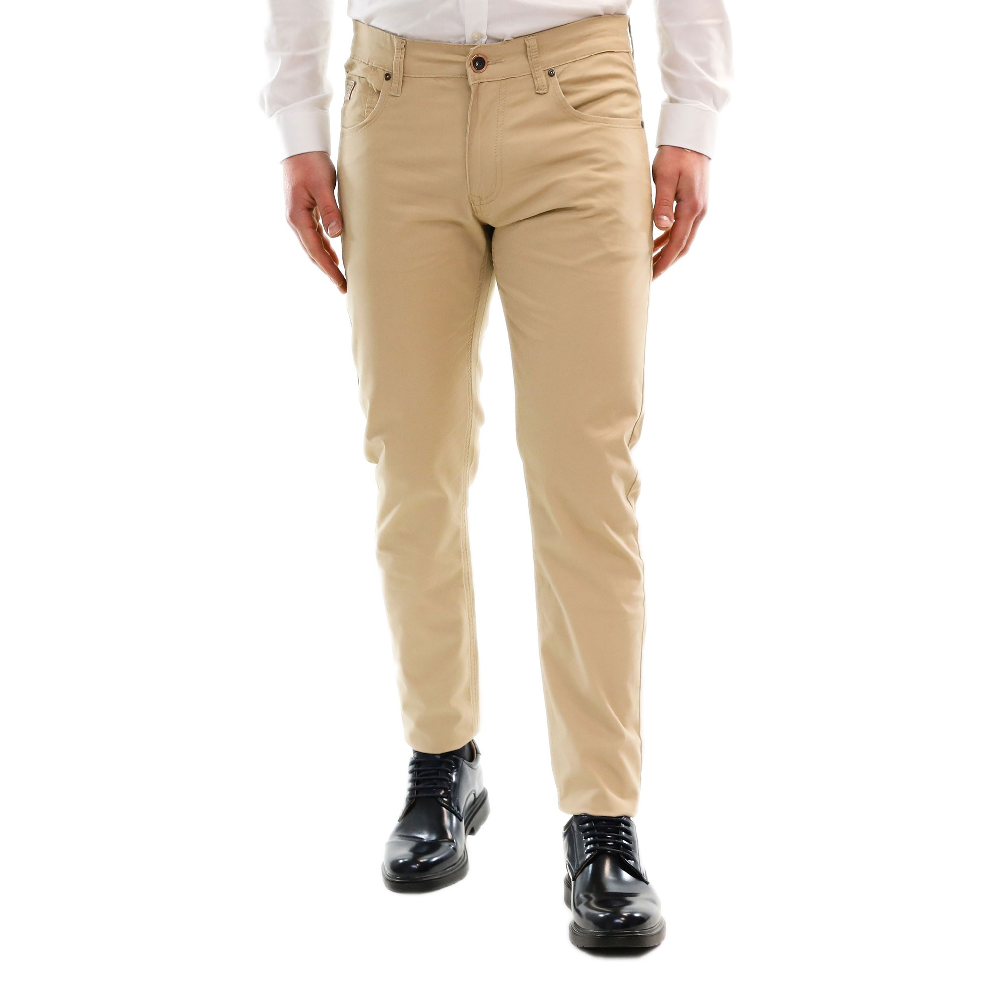 097b8c00d6 Pantalone Uomo Cotone Estivo Leggero Chino Slim Casual Elegante 5 ...