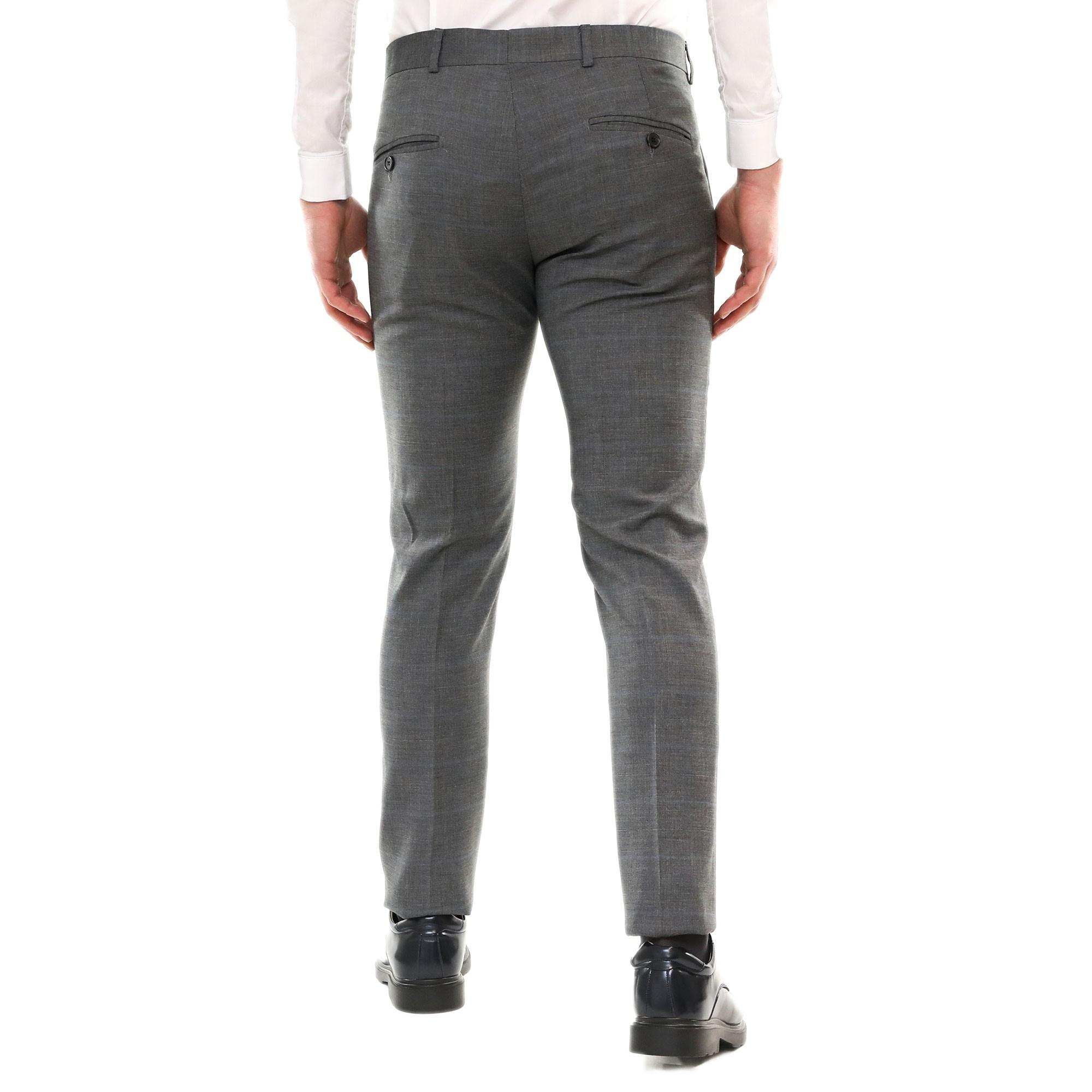 e7cf12bea1 Pantalone Uomo Chino Classico Elegante Primaverile Abito Estivo ...