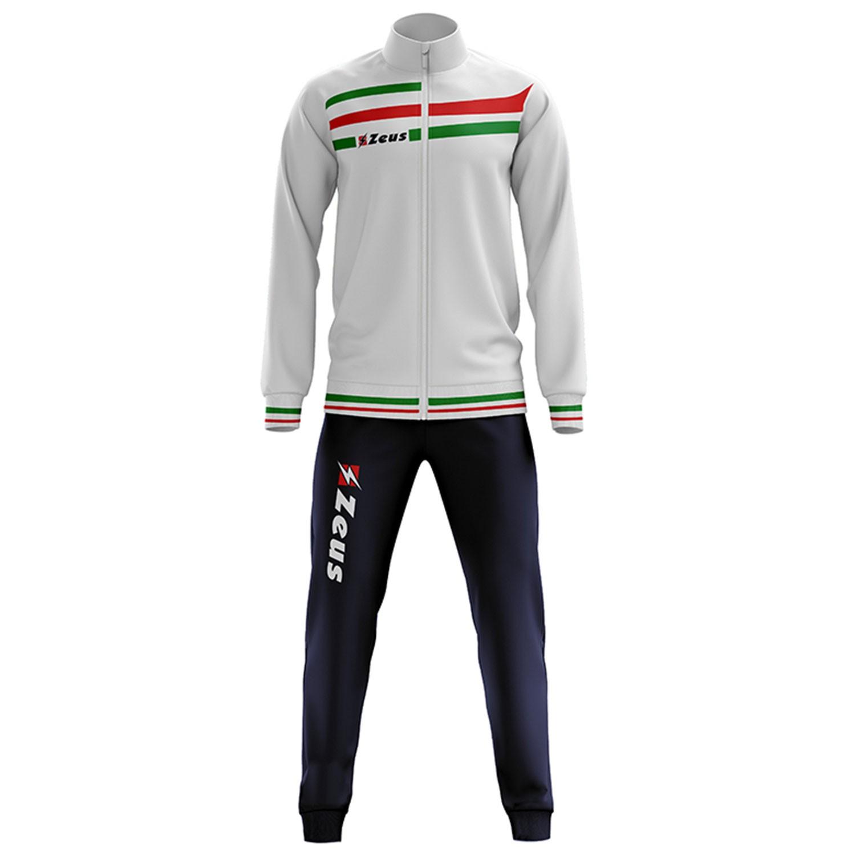 Tuta-Da-Ginnastica-Zeus-Itaca-Uomo-Donna-Completo-Sportivo-Calcio-Palestra