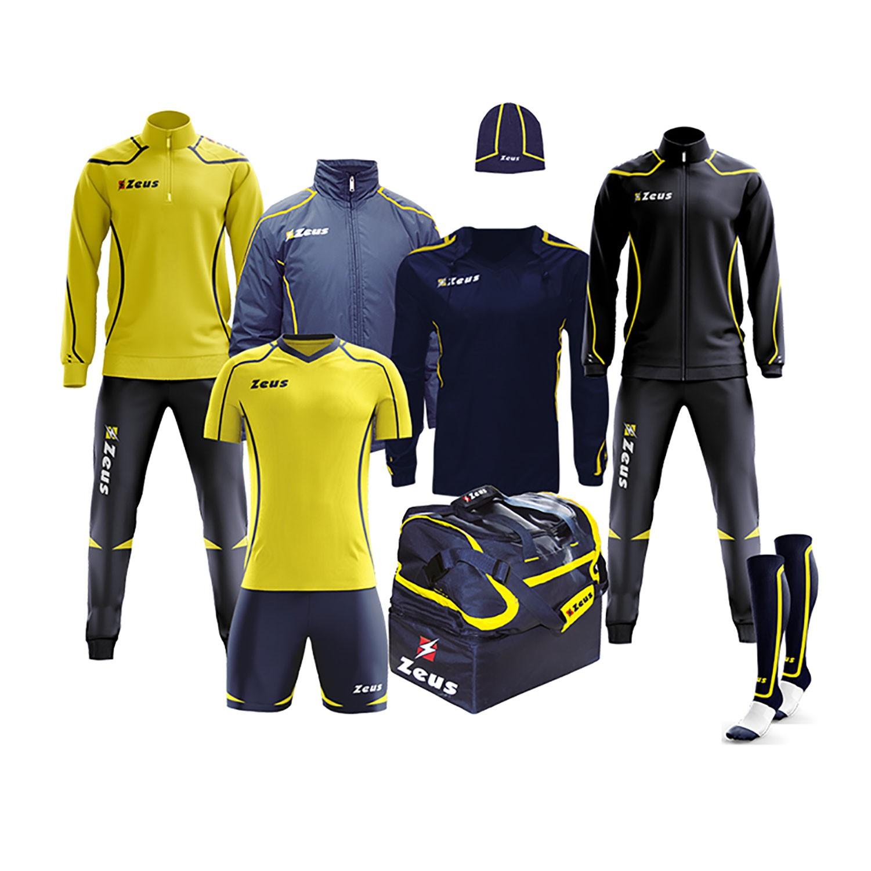 69a658ca844fbe Box Fauno Zeus Set Completo Calcio 8 Pezzi Kit Calcio Per Squadra | eBay