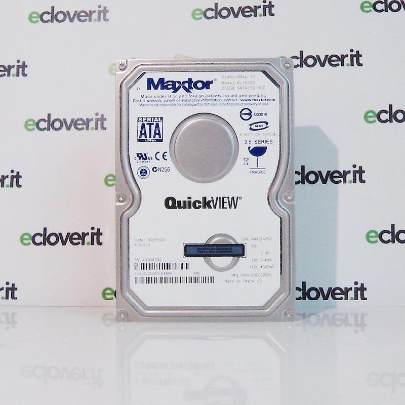 """Maxtor hard disk per Computer PC Desktop HDD 160gb 3,5"""" DiamondMax 10 6L250S0"""