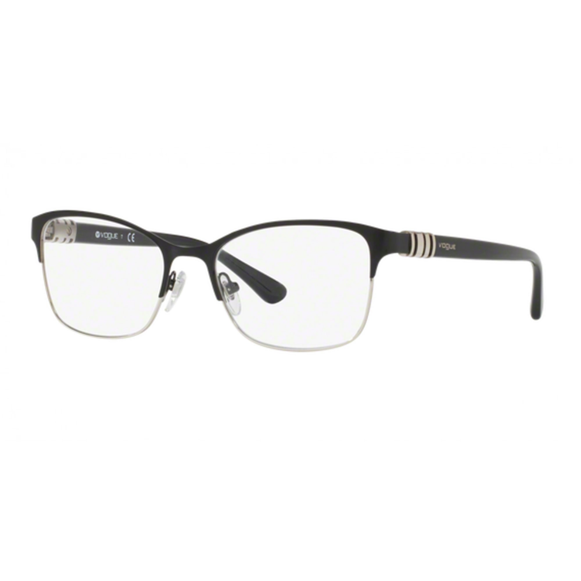 Soleggiato Vogue Vo4050 352 Cal.53 Occhiale Da Vista Nero Black Eyeglasses Sehbrille Donna Ultima Tecnologia