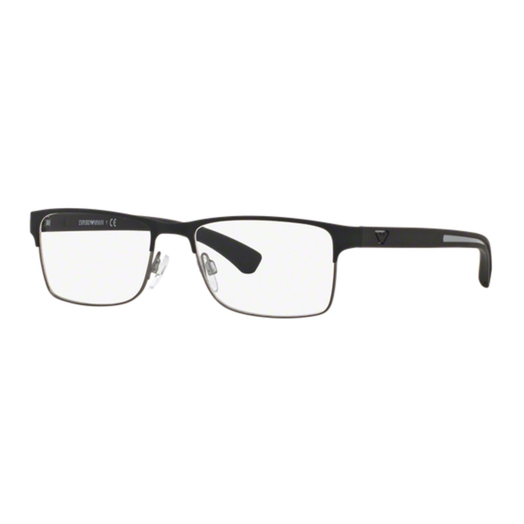 Emporio Armani EA1052 3094 occhiali da vista nero black eyeglasses sehbrille man qwMvq9V