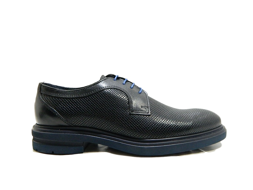 In Luxury Scarpe Light Amo Uomo Pavè Stringate Vera Si Pelle Nero Extra 7244a dwIqUEnIY