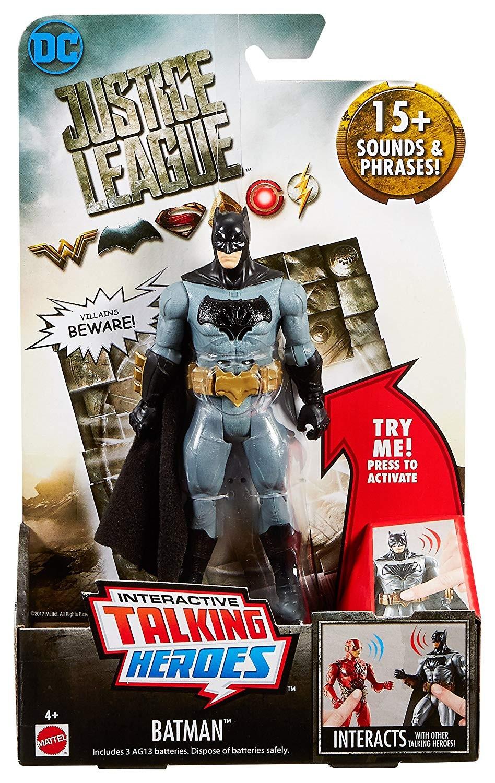 DC DC DC Comics Justice League Interactive Talking Heroes Batman 2da745