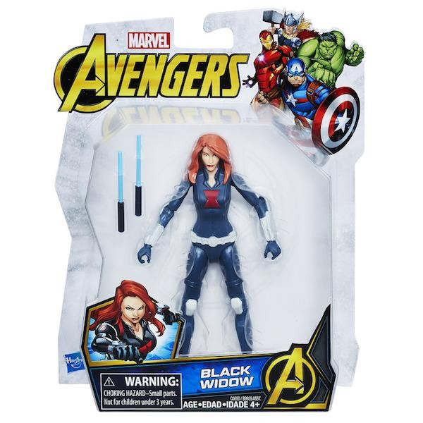Marvel-Avengers-Action-Figure-Black-Widow-15-Cm-Hasbro