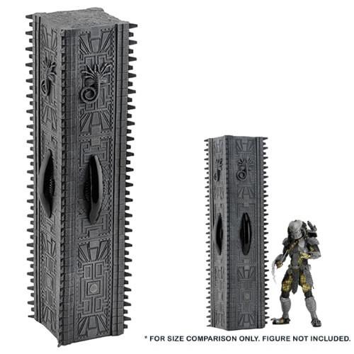Alien vs. protator abbildung tempel säule diorama element neca