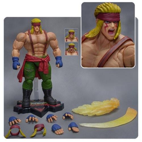 Street Fighter V Alex Action Figure Storm 18 Cm