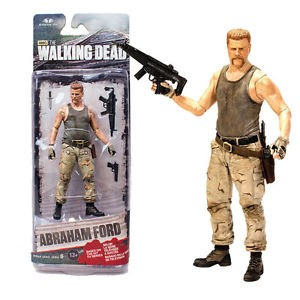 The Walking Dead Action Figure Abraham Ford McFarlane