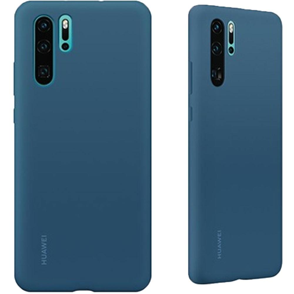 Custodia-ORIGINALE-HUAWEI-Silicone-Case-Per-P30-PRO-Cover-Protettiva-Soft-Touch miniatura 5