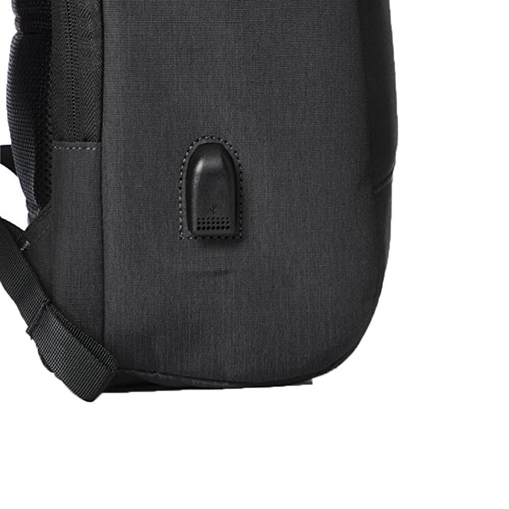 PURO-Zaino-BYDAY-Per-MacBook-Pro-15-034-e-Pc-Fino-15-6-034-con-porta-USB-esterna miniatura 3