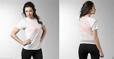 Fitness T shirt Palestra Donna Training Reebok xnBvPqT