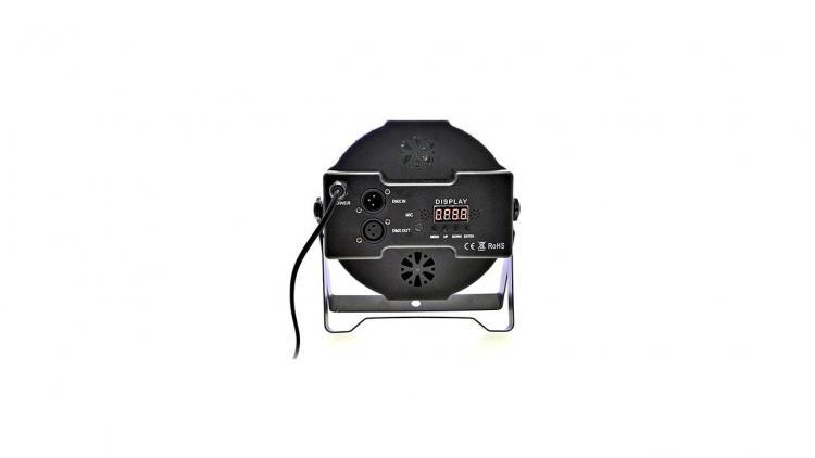 4 Par Led Faro Rgb 36 Lealta Luminosita' Dmx Strobo Wash Programmabile 3