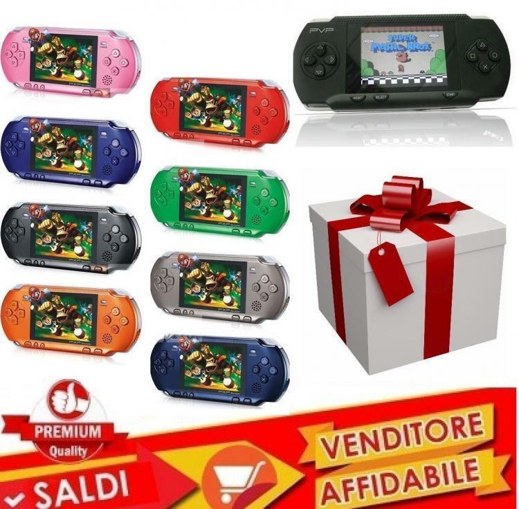 Console Portatile Pvp Videogioco Con Tantissimi Giochi Per Bambini Facsimile Ps 3