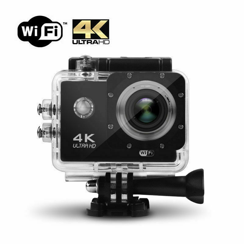 Pro Cam Con Telecomando 4K 16Mp Hdmi Sport Wifi Ultra30M  Action Camer Subacquea 4