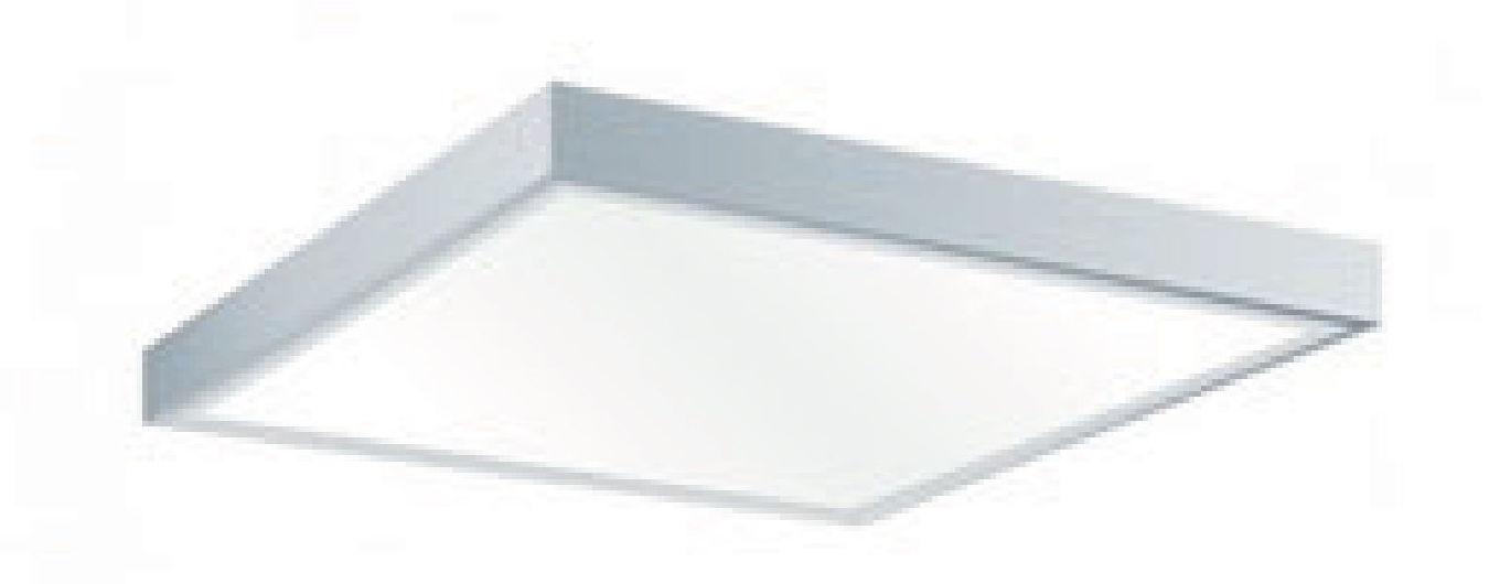 Plafoniera per esterno a led e interno misure 60x60 da 48w for Articoli per esterno