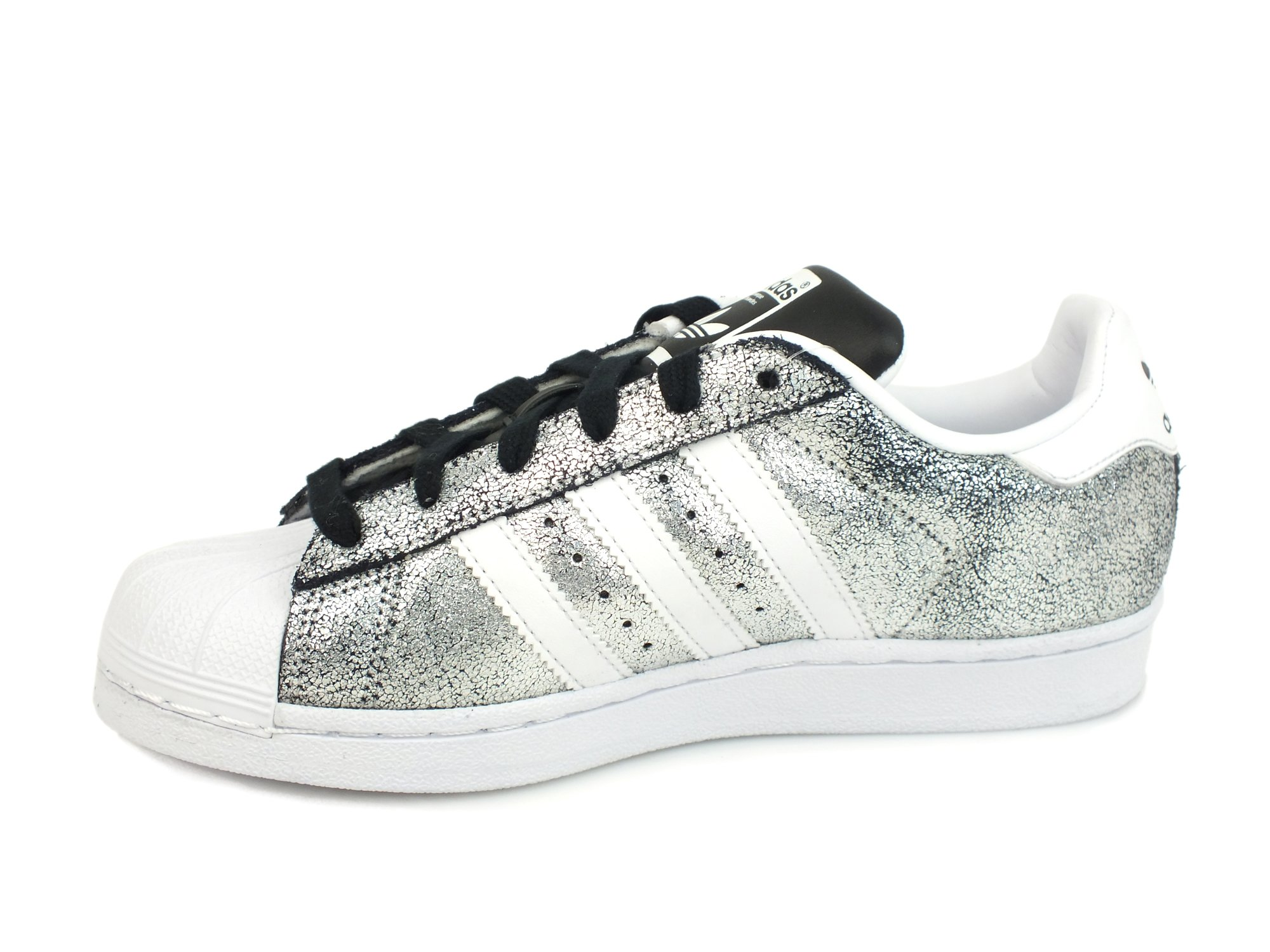 ADIDAS-SUPERSTAR-W-sneakers-laminate-donna-PELLE-SILVER-