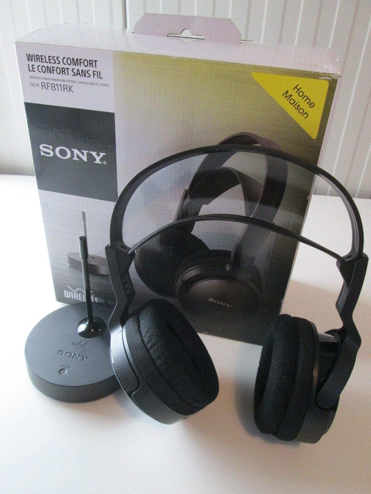 Sony-MDR-RF811RK-Cuffie-TV-Wireless-Radiofrequenza miniatura 2