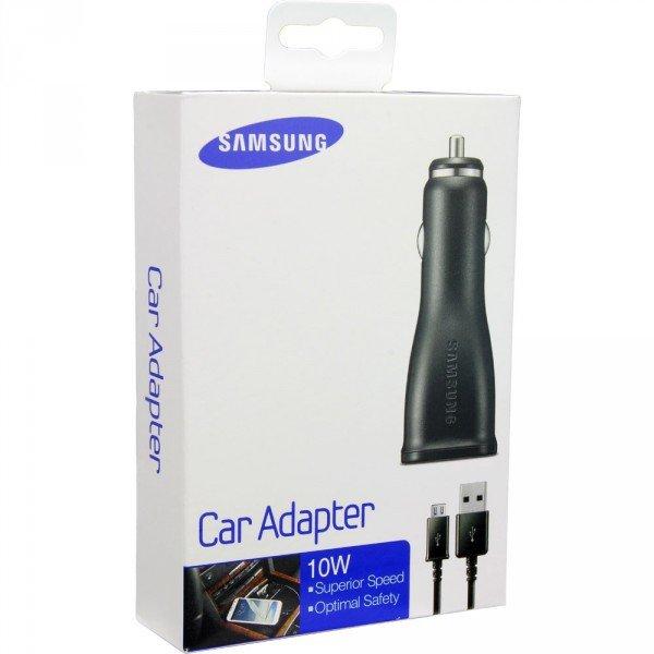 SAMSUNG KIT CARICATORE AUTO 10W USB + MULTI CAVO USB ORIGINALE