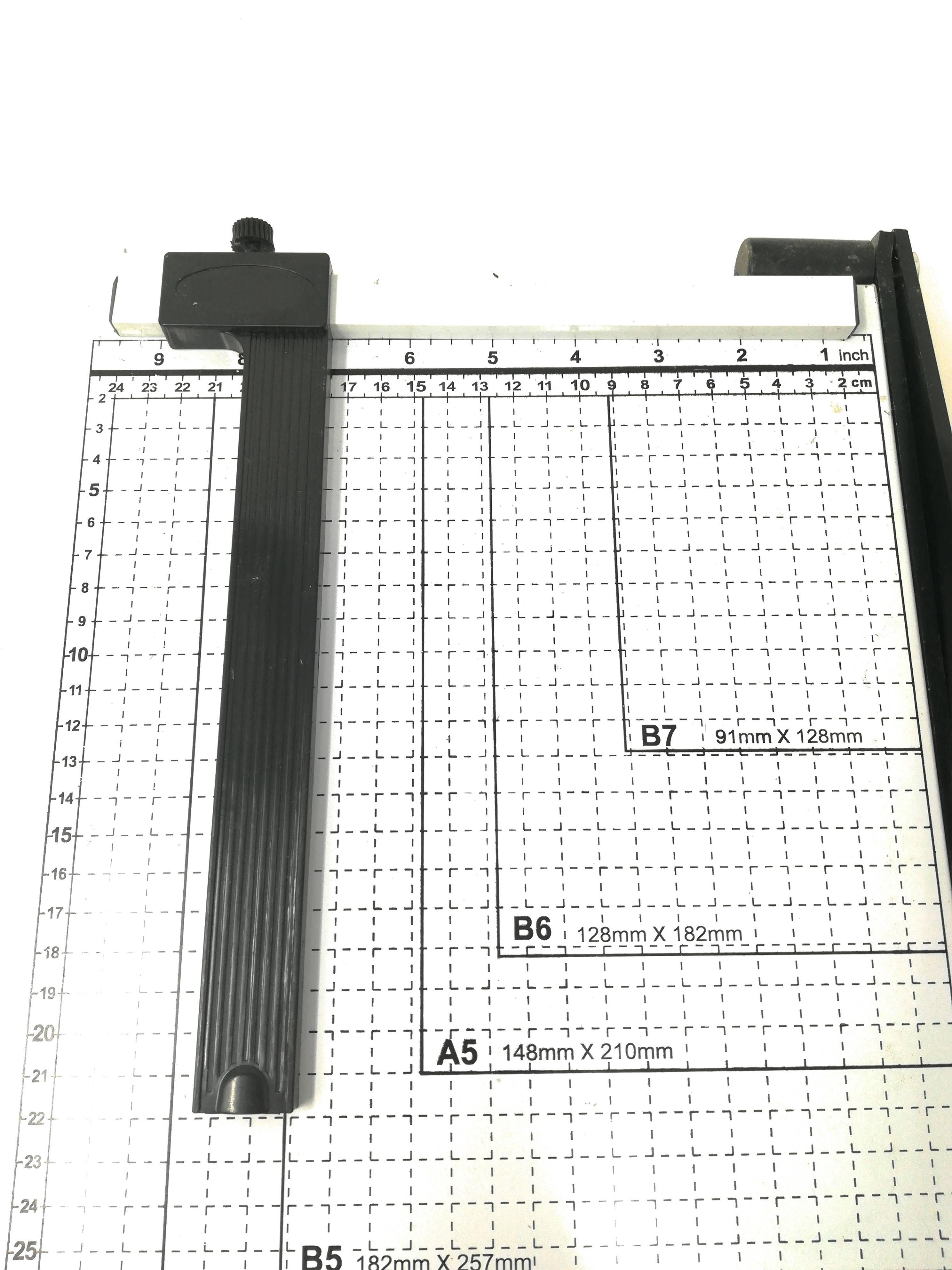 Taglierina A Leva Per Fogli A4 A5 B5 B6 B7 Taglia Carta Con Barra Centimetrata