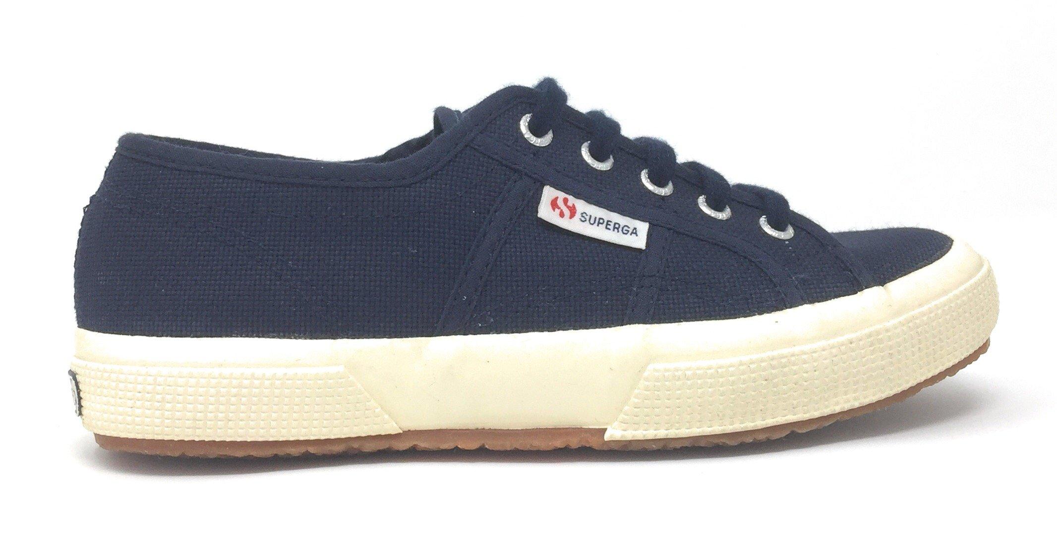 Tg. 33 Superga 2750JCOT CLASSIC Zapatillas de algodn infantil Azul Marino