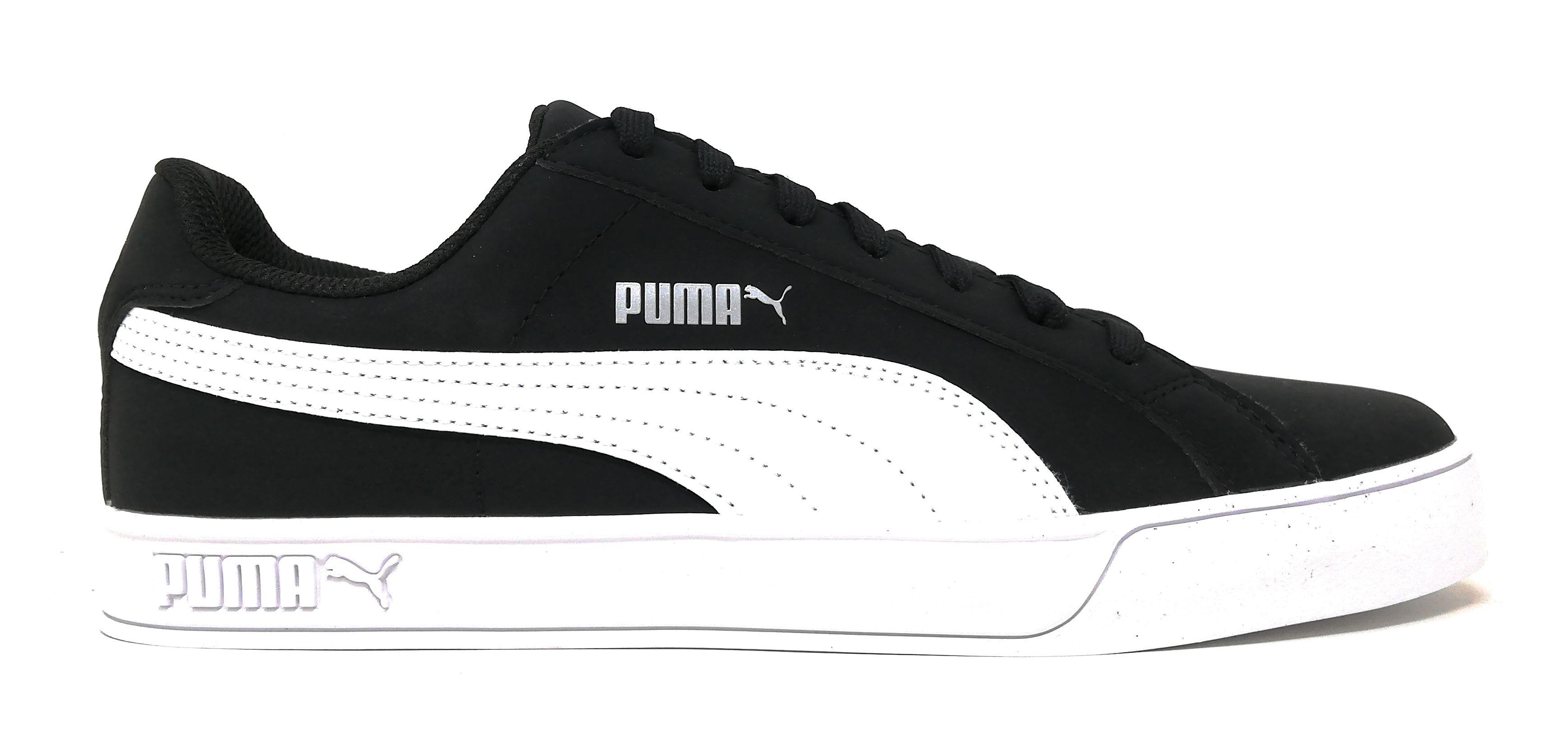 Scarpa da ginnastica PUMA SMASH VULC Uomo black-white  7e7249c6d42