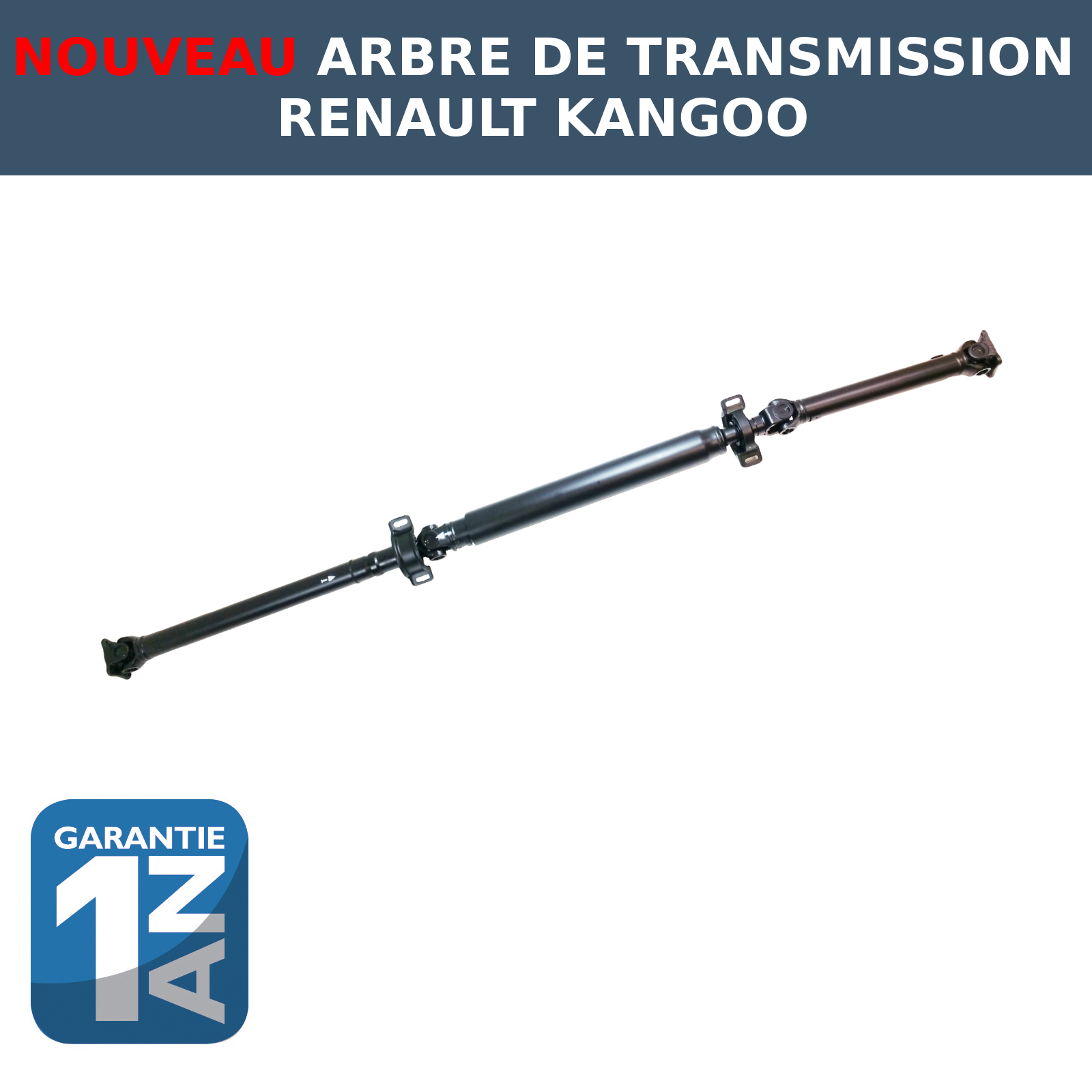 nouveau arbre de transmission pour renault kangoo 4x4 8200149811 8200144401 ebay. Black Bedroom Furniture Sets. Home Design Ideas