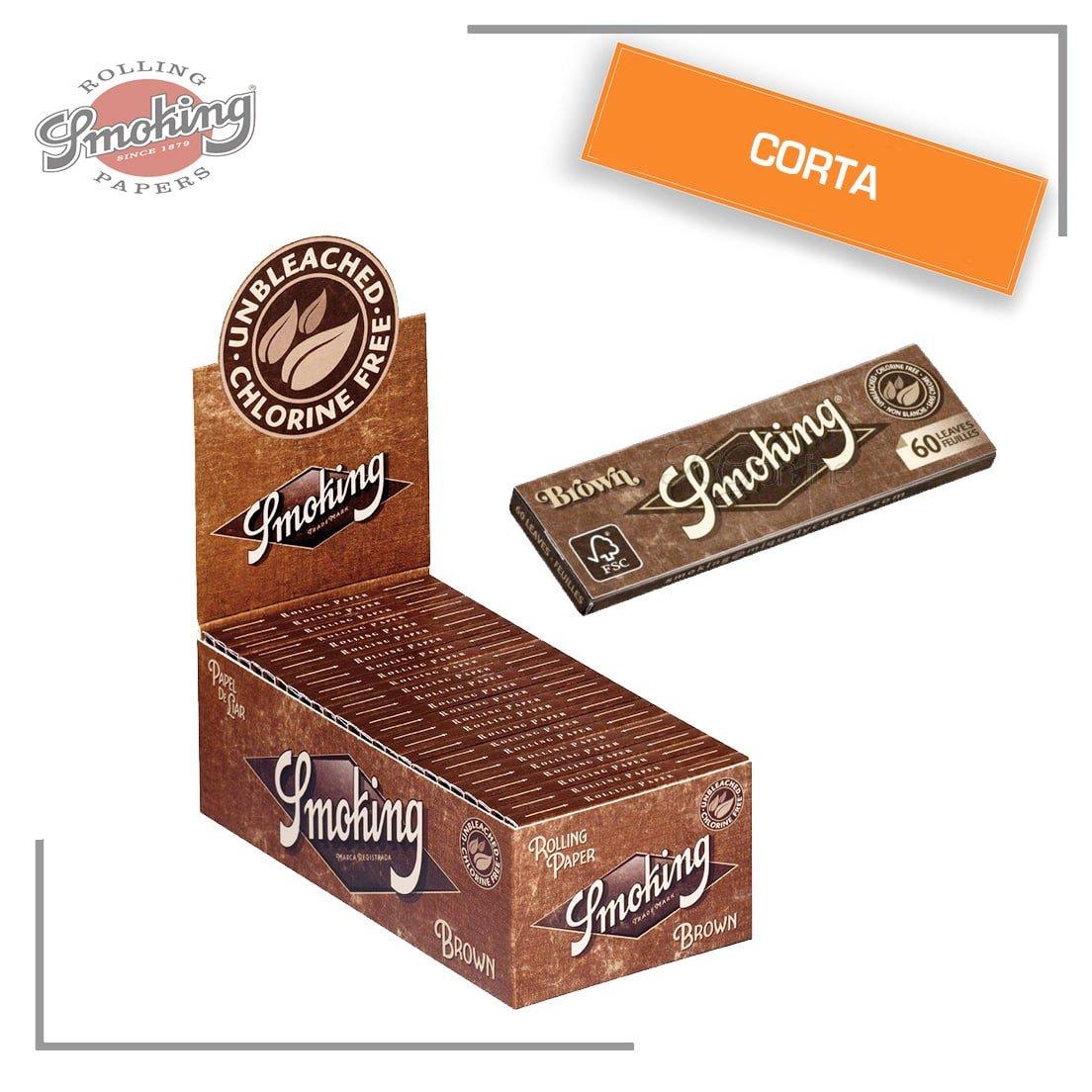 Smoking-3000-CARTINE-brown-corte-box-da-50-libretti
