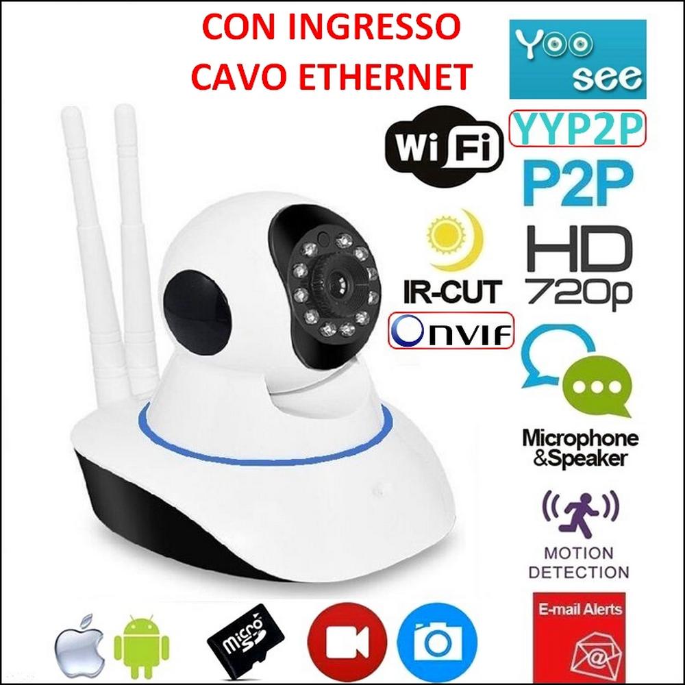 Telecamera-IP-CAMERA-wi-fi-HD-720p-motorizzata-infrarossi-con-app-YOOSEE