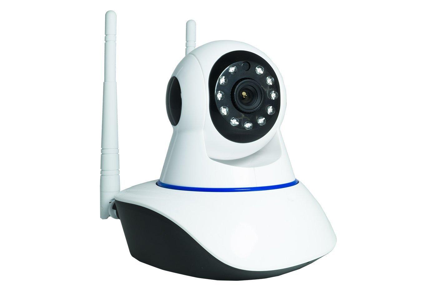 Telecamera IP CAMERA wi-fi HD 720p motorizzata infrarossi con app YOOSEE