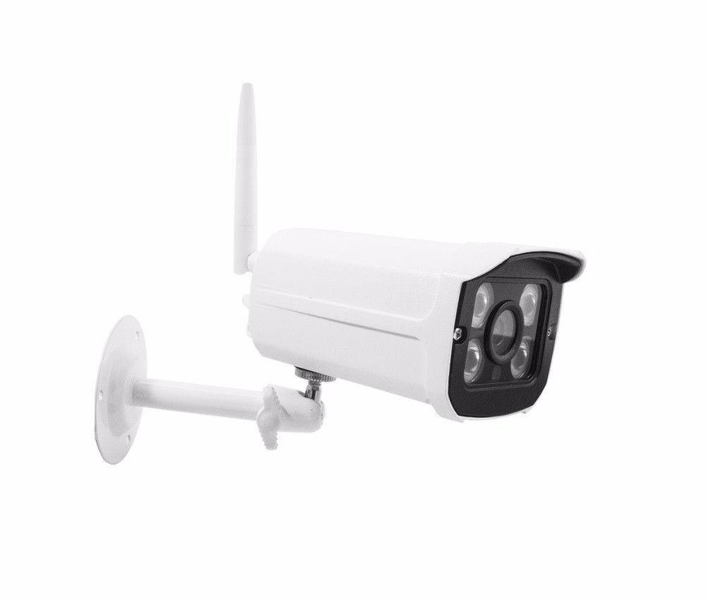 Telecamera Ip Camera Wi-fi HD P2P 4 Led Infrarossi SD Per Esterno IP66 3