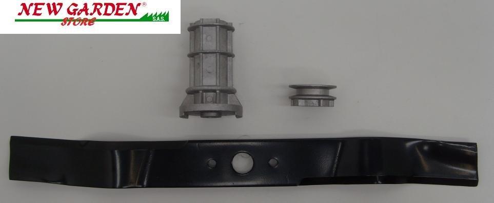 Conjunto hoja+cubo soporte de cuchilla para GRIN PODADORA GRIN para en tracción f7ea0c