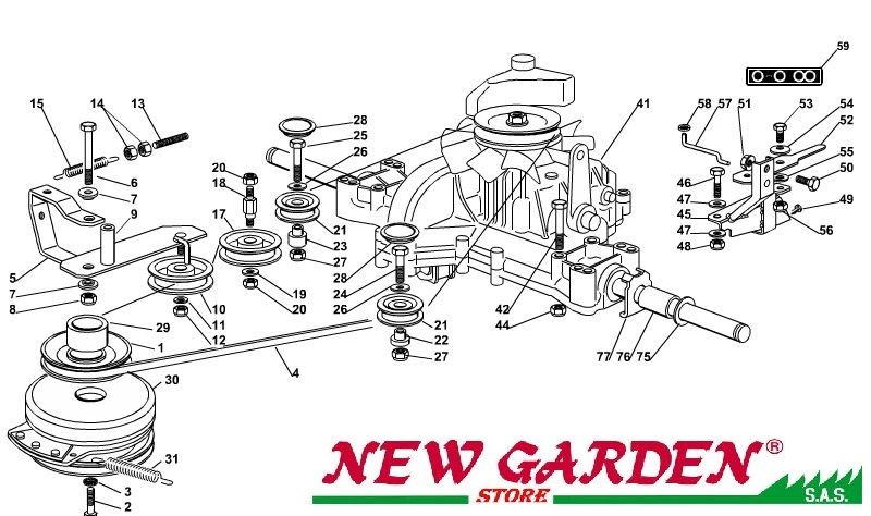 transmission exploded view 102cm ptc220hd mower lawn mower. Black Bedroom Furniture Sets. Home Design Ideas