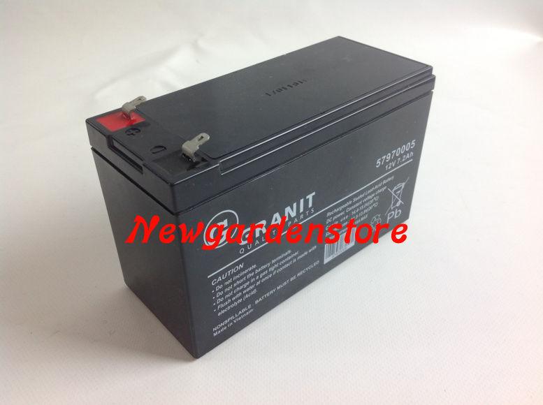 Schema Elettrico Trattorino Tagliaerba : Batteria gel avviamento elettrico trattorino tagliaerba