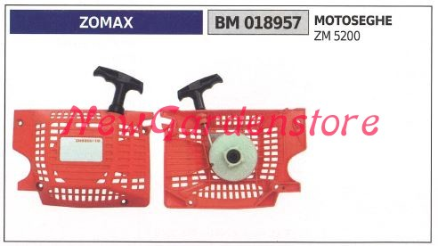 Messa in moto ZOMAX motore motosega ZM 4100 018556
