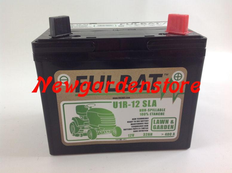 batterie gel carts d 39 acquisition l ctrique tracteur tondeuse 12v 32ah 400 ebay. Black Bedroom Furniture Sets. Home Design Ideas