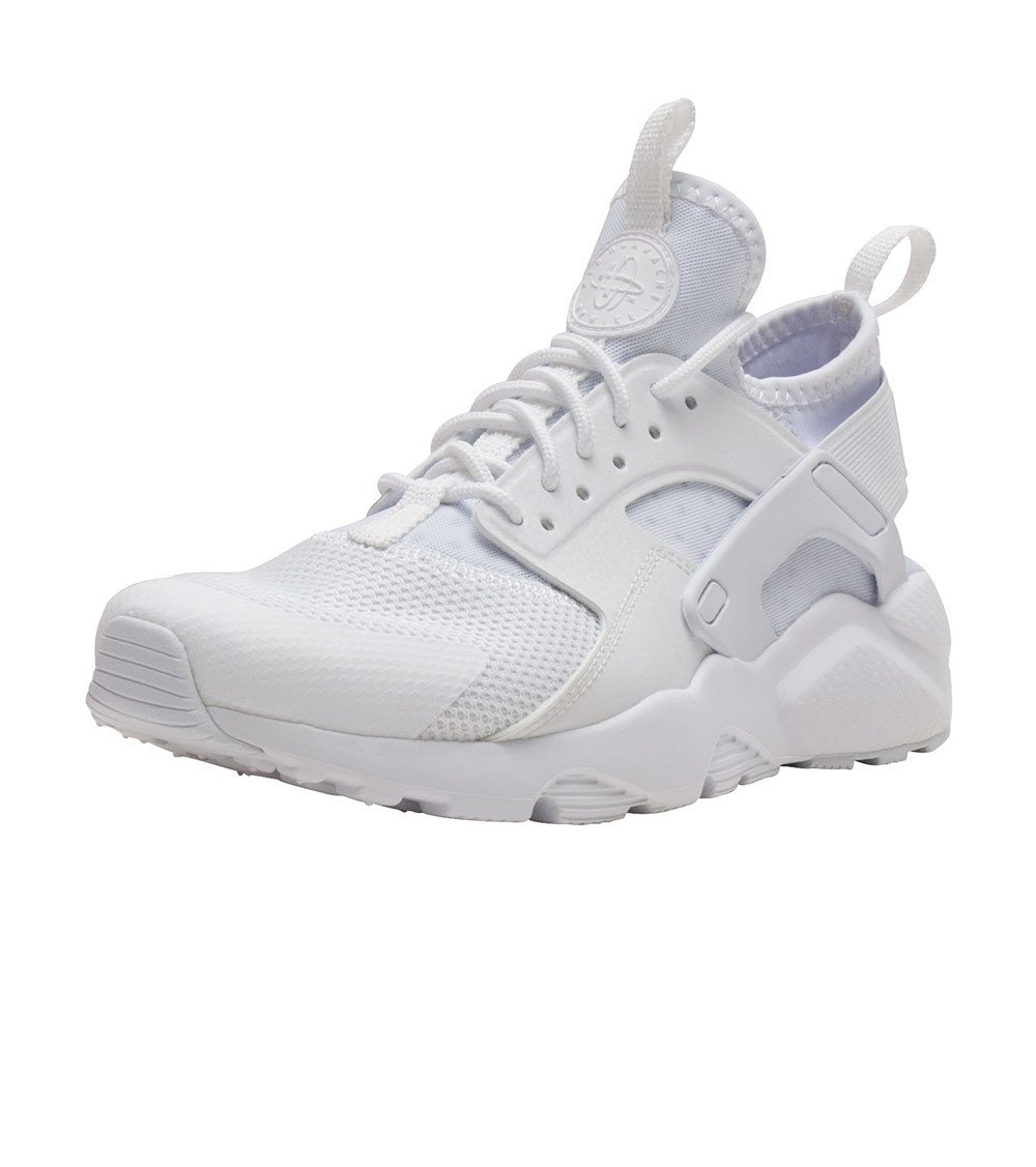 Scarpe unisex NIKE AIR HUARACHE RUN ULTRA in pelle bianca 847569100