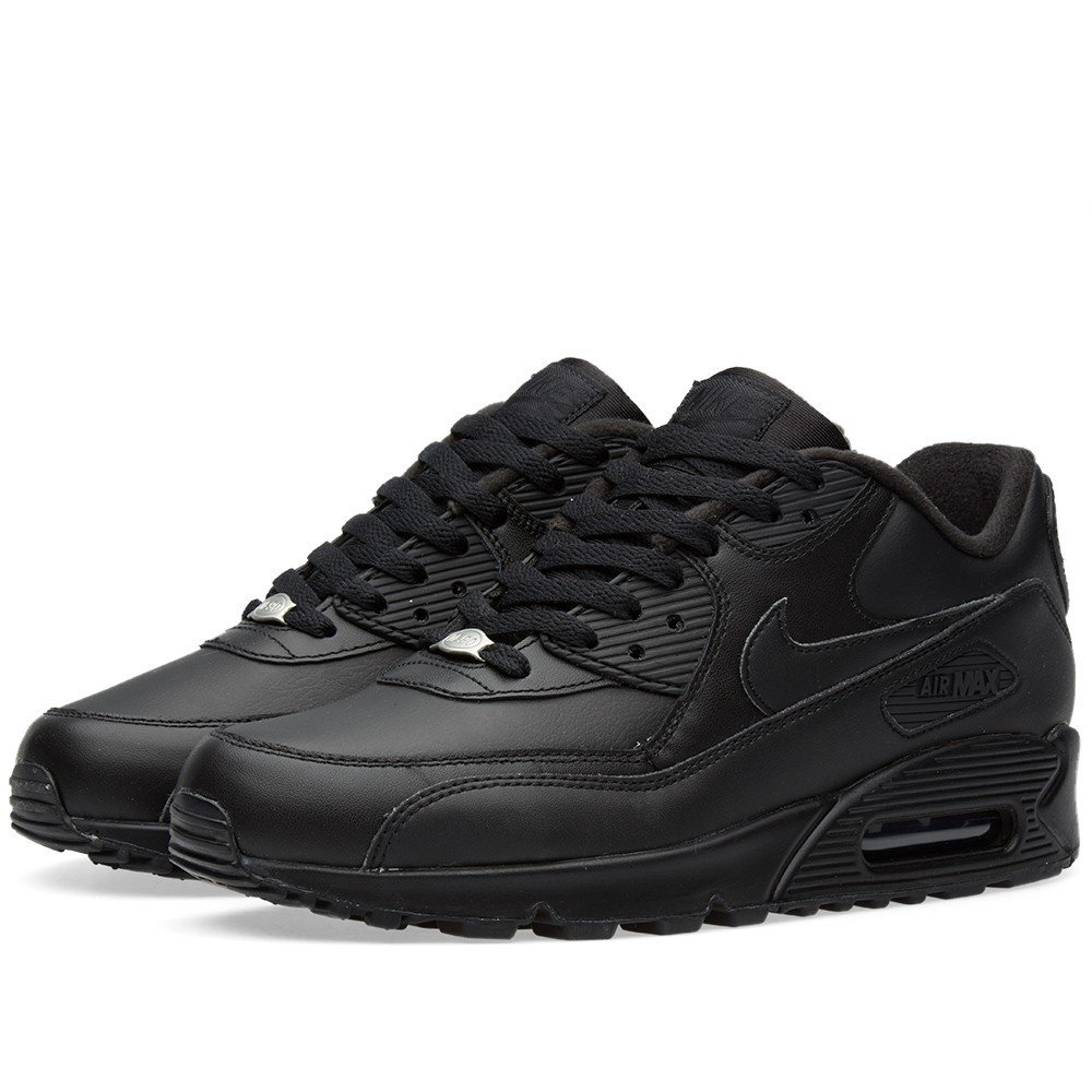 air max nere in pelle