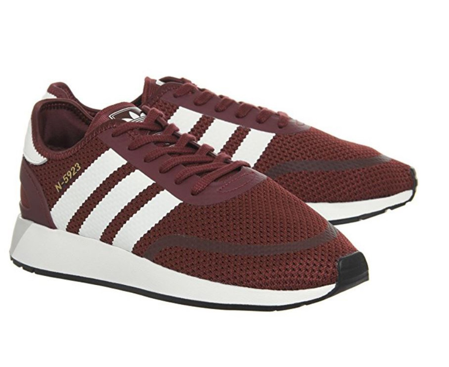 Scarpe uomo sneakers ADIDAS N5923 in tessuto rosso DB0960