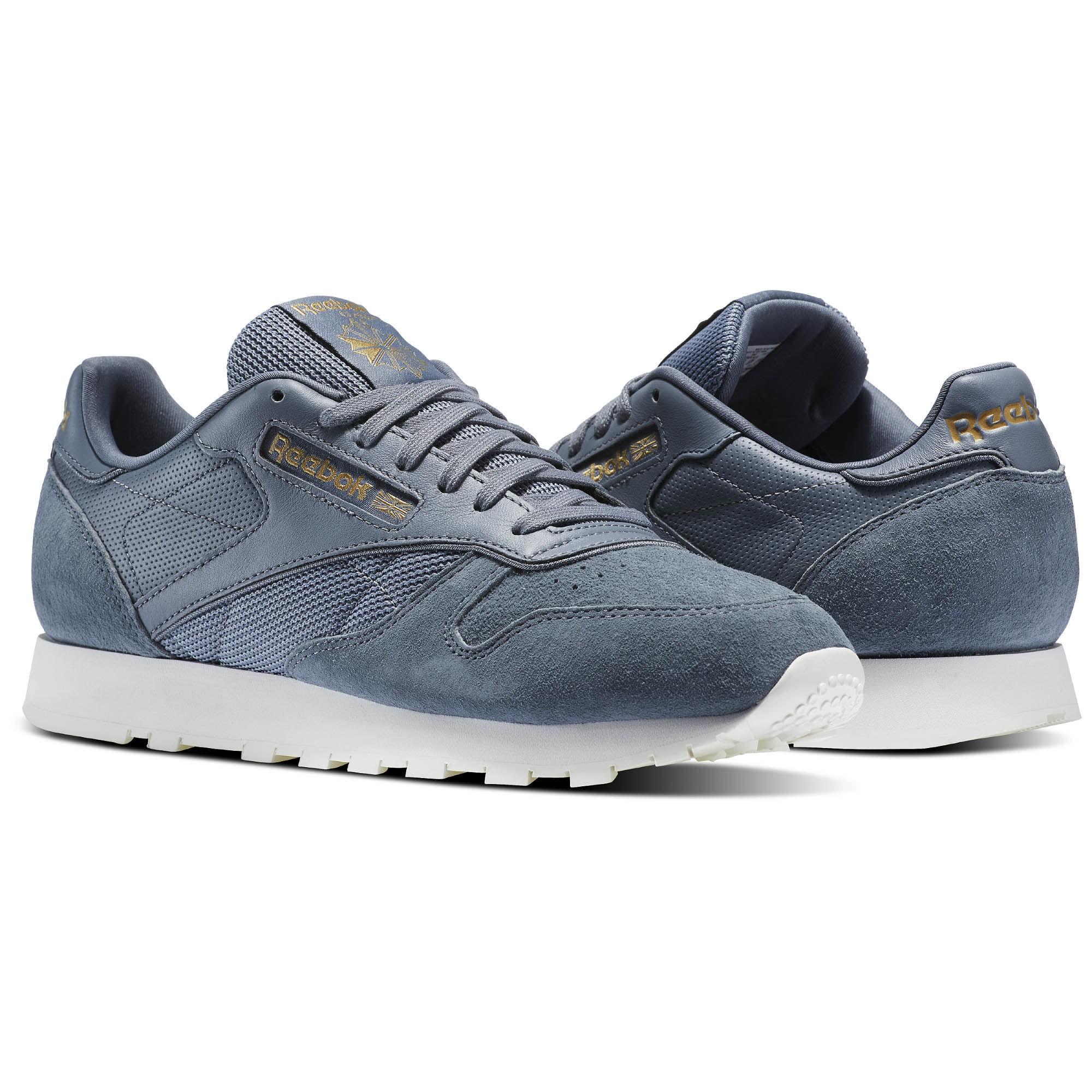 Scarpe In Reebok Sneakers Azzurro Alr Classic Leather Camoscio Uomo  qxpC6q7wa cec16f2d4c2