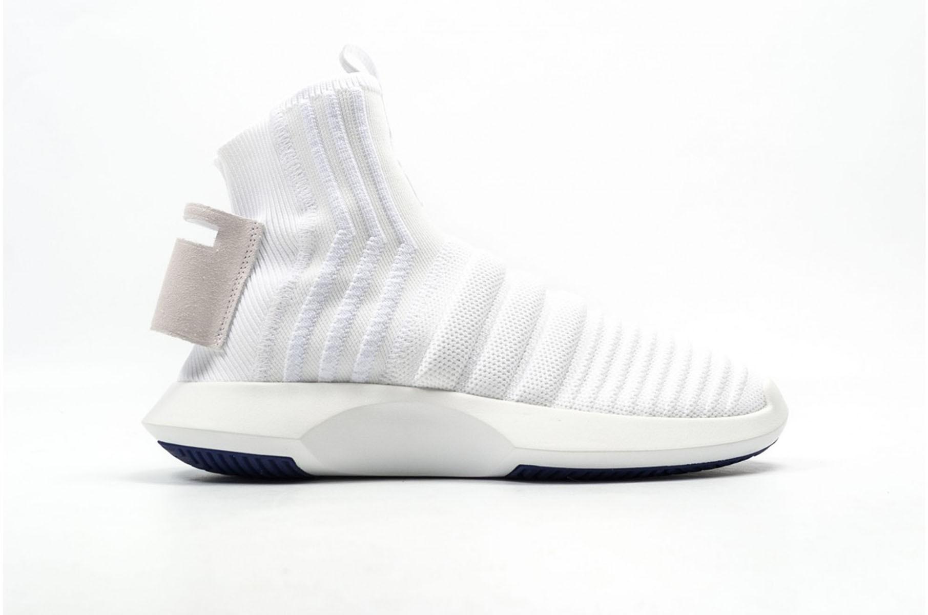 premium selection daea4 547e8 Scarpe uomo sneakers ADIDAS CRAZY 1 ADV PRIMEKNIT SOCK in tessuto bianco  CQ1012