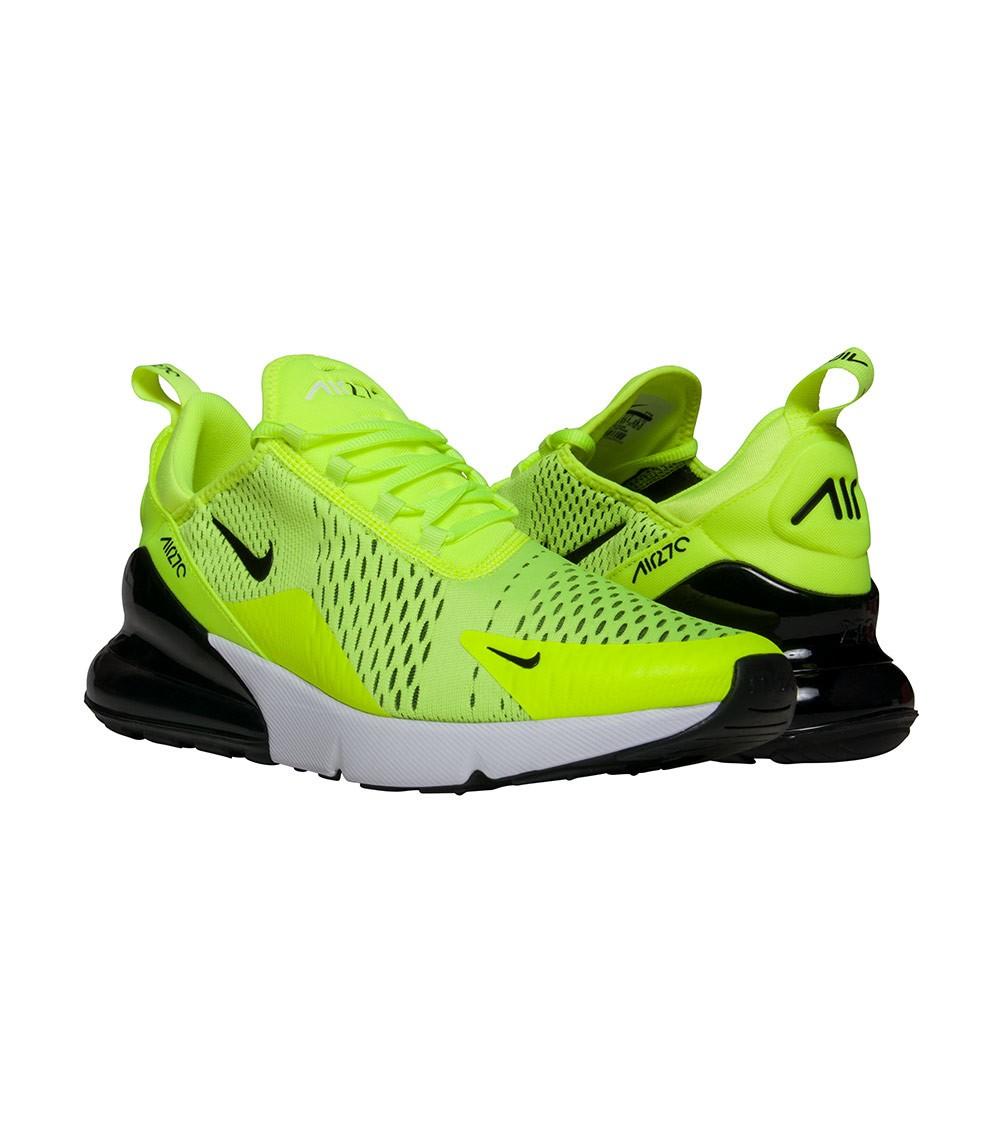 """finest selection 25074 a5346 Zapatos hombre zapatillas NIKE AIR MAX 270 270 270 VOLT in tessuto giallo  AH8050-701. """""""