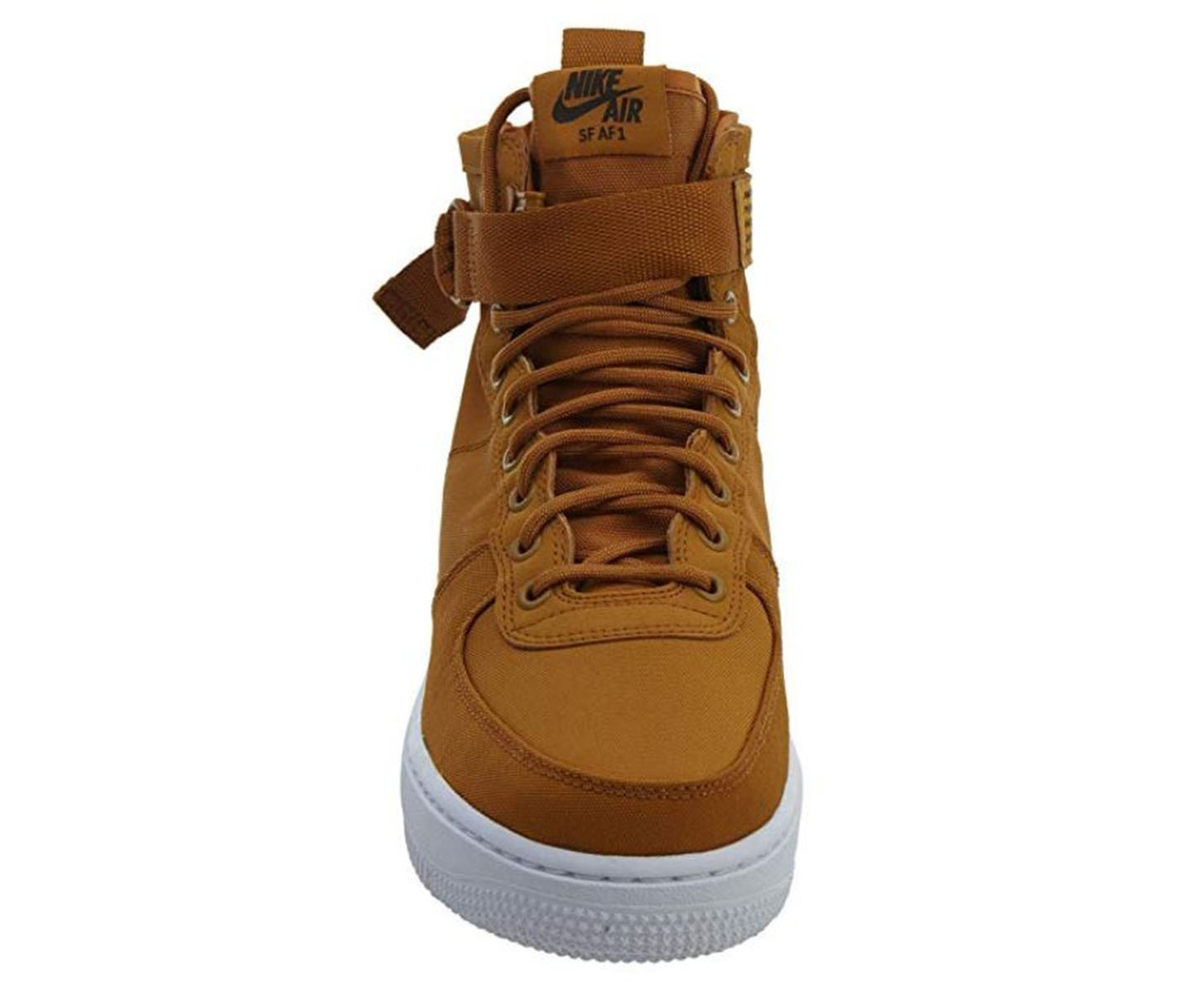 factory authentic f6d2b 208f5 Scarpe uomo sneakers NIKE SF AIR FORCE 1 in tessuto senape 917753-700 2 2  di 3 ...